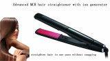 Raddrizzatore piano di ceramica dei capelli del ferro di tensione doppia del contrassegno privato