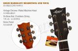Chitarra acustica superiore solida Handmade di Cutway di vendita calda