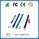 USB Pulsera pulsera de silicona Pen Drive