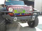 Parachoques delanteros de encargo del metal de soldadura para el Wrangler del jeep