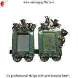 Blocco per grafici della foto del metallo del cuore degli amanti per la decorazione domestica (YH-PF006)