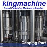 Пэт бутылки минеральной воды мойка заполнение Capping 3-в-1 машины