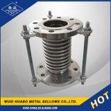 Joint de dilatation flexibles en acier inoxydable embout à bride