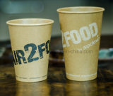 Tazas de papel disponibles de un sólo recinto al por mayor de la alta calidad 12oz con la tapa