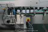 Frascos quadrados quatro lados da máquina de rotulação