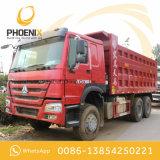 아프리카를 위한 양호한 상태에 이용된 336HP HOWO 10 바퀴 덤프 트럭 팁 주는 사람 6X4