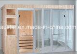Villa Sauna projetada a vapor combinada para multipessoas com customização (AT-8653)