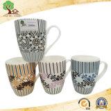 تصميم مع زهرات جميل فنجان خزفيّ