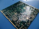 Carte contrôlée Iteq 1.53-1.57mm d'impédance de carte d'or de circuit de carte de 10 couches profondément