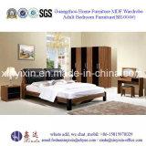 Mobília de madeira do quarto do hotel de Dubai da base enorme (SH-004#)