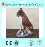 Custom домашних животных оформление полимера боксер собака