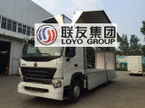 Sinotruk HOWO A7 6X4 알루미늄 합금 Wingvan 화물 트럭