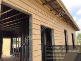 Painéis de parede compostos plásticos de madeira a favor do meio ambiente da instalação fácil de China para ao ar livre