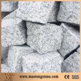 쪼개지는 표면 G603 화강암 자갈 돌
