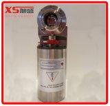 Válvulas de borboleta pneumáticas sanitárias de aço inoxidável com posição do sensor (ar para ar)