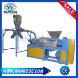 Película inútil del PE de los PP del plástico que exprime la máquina de desecación y de granulación