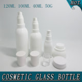 120ml 100ml 40ml 50g Cylinder Square White Porcelain Glass Perfume Bottle