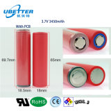 De Batterij van het Lithium van de Leverancier NCR18650ga 3.7V 3500mAh van de batterij van Korea