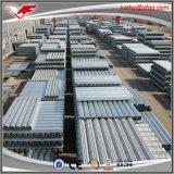Heißes eingetauchtes galvanisiertes Stahlgefäß BS1387 auf Aktien