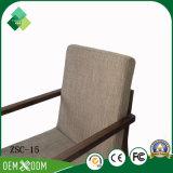 Moderno hotel de estilo simples de café de teca cadeiras para restaurante (ZSC permitem-15)