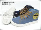 Schuhe neue der Art-Form-beiläufige Dame-Segeltuch (XJY0619-01)
