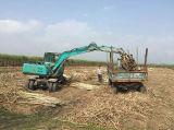 16MPa 65kw atacan el excavador de la rueda