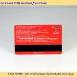 Cartão do bônus feito do PVC com a listra magnética de Hico (ISO 7811)