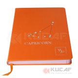 Decoração em mármore personalizados mais populares Notebook Capa de couro