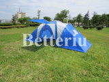 Tente de tente de Double couche de tente de Skyblue grande pour camper de famille