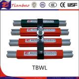 Barra de distribución de acero de aluminio del conductor del PVC de /Stainless