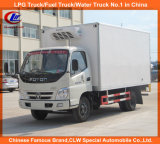 Sinotruck Freezer Van for 3tons Cold Drink Refrigerador Caminhão