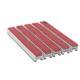 Handelstür-Antibeleg-Gummiteppich-Aluminiumeingangs-Matte