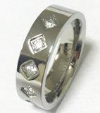De Ring Czr2528 van de Vinger van de Juwelen van het Lichaam van de Manier van het roestvrij staal