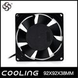 Осевой вентилятор системы охлаждения двигателя переменного тока 92X92X38мм 9238 4 дюйма АС 220V крыльчатки вентилятора 110V