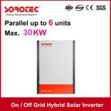 AN/AUS-Rasterfeld-hybrider Solarinverter 1kVA 1000W mit 80A MPPT Solarladung-Controller