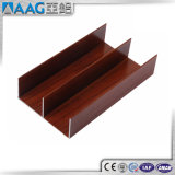 Color de aluminio de madera del perfil de Extusion del marco de la ventana de la buena calidad