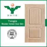 Piel de puerta de chapa de madera barata en China