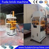 Kleine Selbstlehm-Ziegelstein-Maschine komprimierte Massen-Block-Maschine