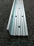 6061T6/aluminium en aluminium anodisé de profil en forme de L