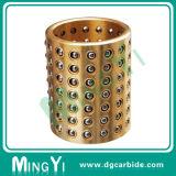 超精密さまざまなカラーの真鍮の標準ボール・ケージのコンパクト
