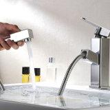 O cromo de Flg terminado retira a única torneira da bacia do banheiro da alavanca