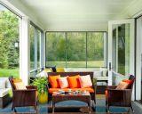 屋外の家具の庭の家具の藤の家具4部分の