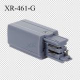 Alimentation de Fabricante Adaptador De Pista End pour l'éclairage de DEL (XR-461)