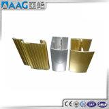 Profil en aluminium de fini Polished de chrome pour des portes de Module