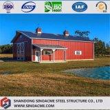 Luz Sinoacme prédio de estrutura de aço para armazenagem