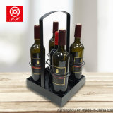 Novo Design Metal Beer Wine Bottle Holder with Handle