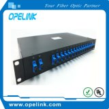 Gpon Telecommunication 1X16 PLC Splitter Rack Caja para Pon / FTTH / CATV
