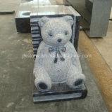 Grafsteen van de Baby van het Boek Teddy van het graniet de Kleine