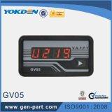 Il generatore diesel di piccola dimensione parte il voltmetro di Digitahi