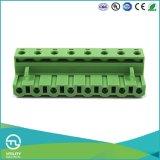 Inserte el enchufe de Custome PCB Terminal Block Board Ma2.5 / H7.62